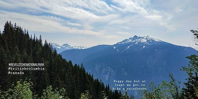 The views hiking up (Mt. Revelstoke National Park)