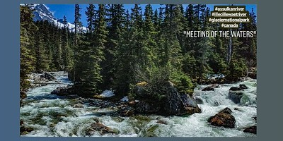 Meeting of the waters (Glacier National Park)