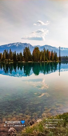 Lake Beauvert  (Jasper National Park)