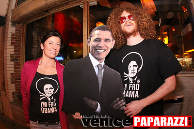 "0 **** If you are interested in purchasing these ""I'm fro Obama"" shirts, contact Nik Roybal of www. www.venicetrim.com"