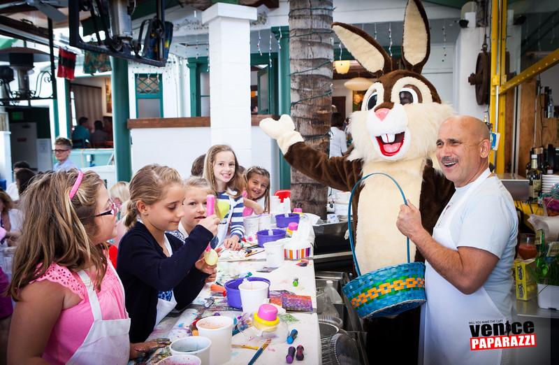 2010-2014 Easter Brunch & coloring bar at James Beach