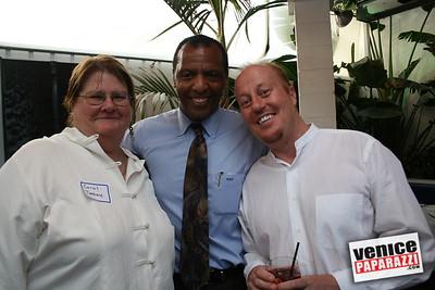 1  Carol Tantu, Mark Antonio Grant and James Evans