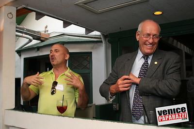 1   Danny presents Bill Rosendahl