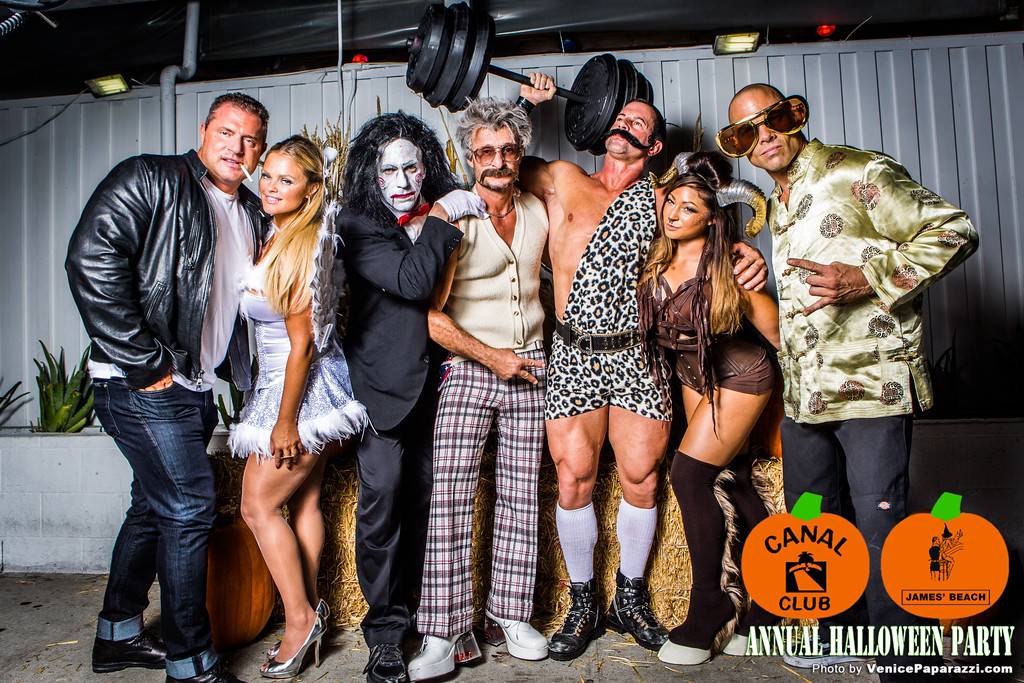 Canal Club & James' Beach Annual Halloween Party.   #Halloween #JamesBeach #CanalClub #VeniceBeach  #VeniceCAFun  Photo by #VenicePaparazzi