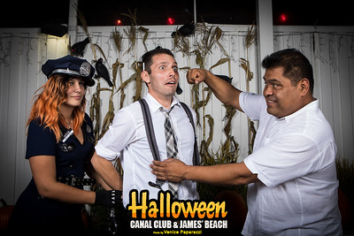 James' Beach and Canal Club's Annual Halloween Party.  Photo by VenicePaparazzi.com