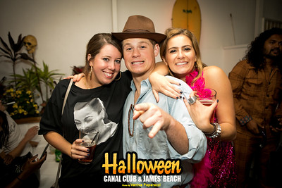 Halloween at Canal Club and James' Beach.  Photo by VenicePaparazzi.com