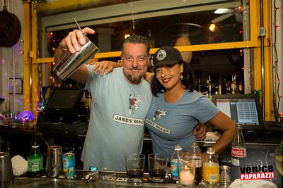 2017 L.A.'s Best Bartender John Henry Binder.   www.JamesBeach.com.  Photo by VenicePaparazzi.com
