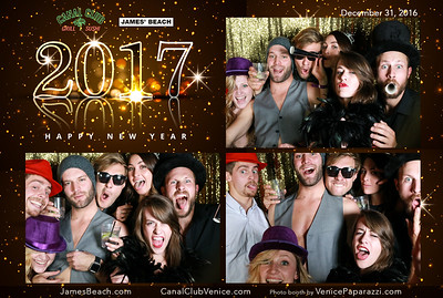12.31.16 James' Beach and the Canal Club's New Year's Eve bash! #VeniceBeachFun @JamesBeach @CanalClub  Photo by www.VenicePaparazzi.com