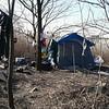 Homeless hangout near Lock 21E.