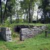 Remains of locktender's house in Bread Lock Park (Lock 7W).