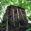 Abutment at the site of the Pompton iron works.