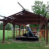 John working the tiller in Bread Lock Park.