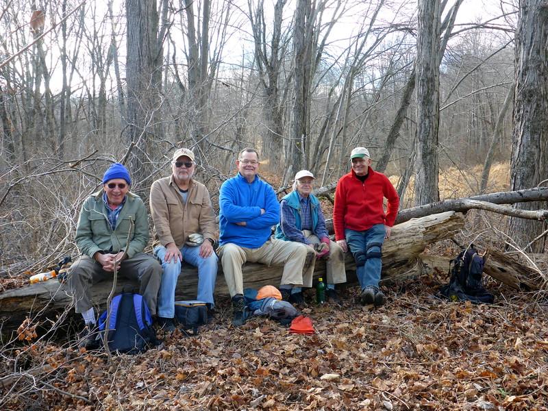 Lunch time (Frank, Rich, Teun, Judy, John) - 12/15/15