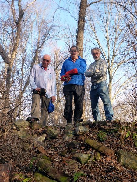 On top of the limekiln (Frank, Teun, Jakob) -12/10/15.
