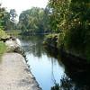 Old junction lock in Schuylerville near present-day lock C5.
