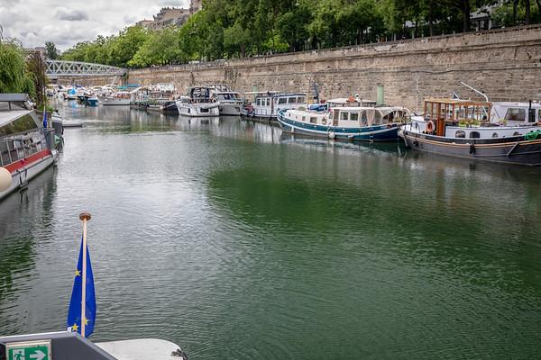 Canal Saint-Martin  June 2018