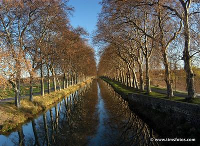 Canal du Midi from Pont de Caylus