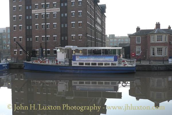 EDWARD ELGAR - Gloucester and Sharpness Canal Cruise - April 2011