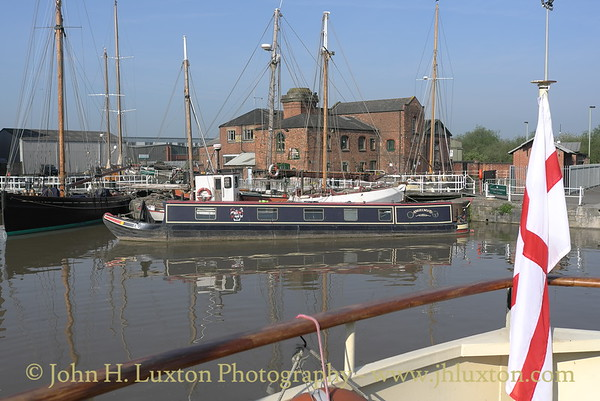 EDWARD ELGAR - Gloucester and Sharpness Canal Cruise - April 2011