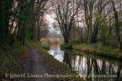 Llangollen Canal - Redbridge Cutting - December 11, 2020