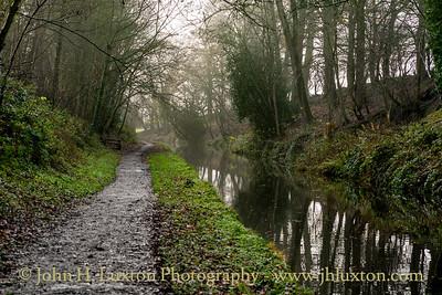 Llangollen Canal - Irish Bridge Cutting - December 11, 2020