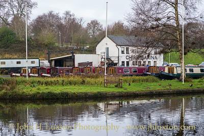 Llangollen Canal - Chirk Marina - December 11, 2020