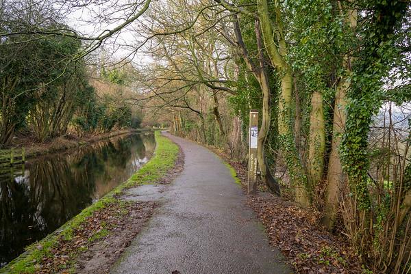 Llangollen Canal - Irish Bridge - December 05, 2020