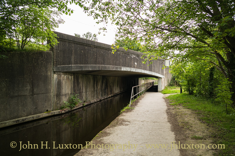 Llangollen Canal, Abbey Road Bridge - June 23, 2020