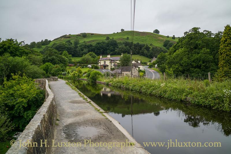 Llangollen Canal, Eglwyseg Aqueduct - June 23, 2020
