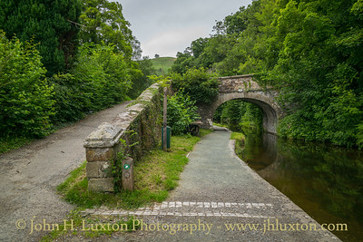 Llangollen Canal, Pentrefelin Bridge - June 23, 2020