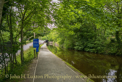 Llangollen Canal, Abbey Road Bridge - June 23, 2020