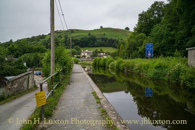 Llangollen Canal, Pentrefelin Wharf - June 23, 2020