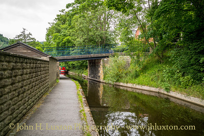 Llangollen Canal - Siambr-Wen Bridge - July 02, 2020