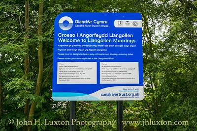 Llangollen Canal - Llangollen Moorings - July 02, 2020