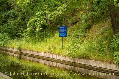 Llangollen Canal - Wern Isaf Rock Cutting - July 02, 2020