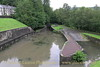The restored basin at Resolven with the launching slipway on the right. At present a section of the Neath Canal beyond Resolven is unrestored and would require the reinstatement of an over bridge on the site of the twin bore culverts under Commercial Road.