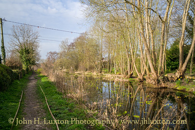 Montgomery Canal: Arddleen to Pool Quay - March 31, 2021