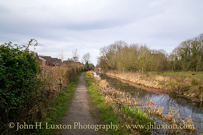 Montgomery Canal: Llanymynech to Parson's Bridge - March 17, 2021