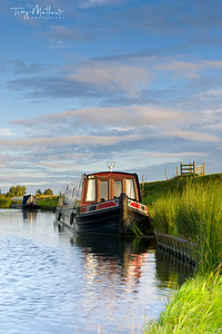 Narrowboat on the Great Ouse