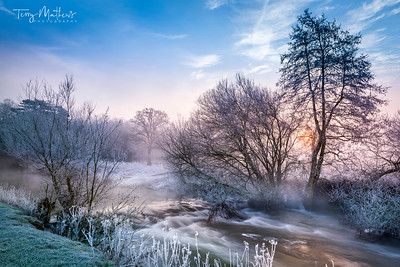 River Avon January Sunrise