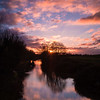 Rose Sky Over Wootton Rivers