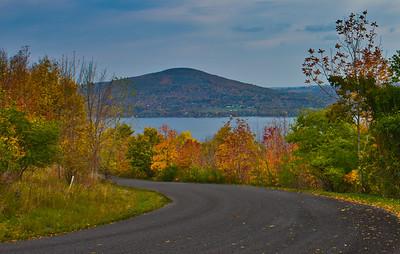 road to canandaigua lake