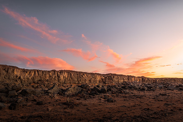 A painting in the desert! - Janubio, Lanzarote