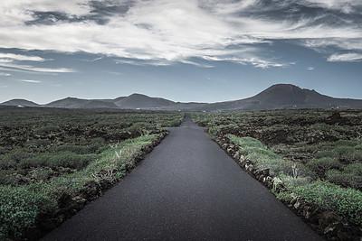 Long road ahead! - Lanzarote