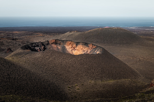 Fire in the hole! - Timanfaya National Park, Lanzarote