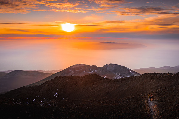 Above the clouds! - Mount Teide, Tenerife