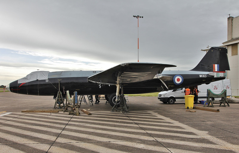 Canberra B2/6, WK163 (G-CTTS) <br /> By Steve Roper.