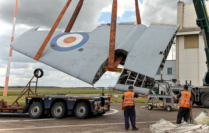 Canberra B2/6 Wk163, (G-CTTS).<br /> By Neil Draper.