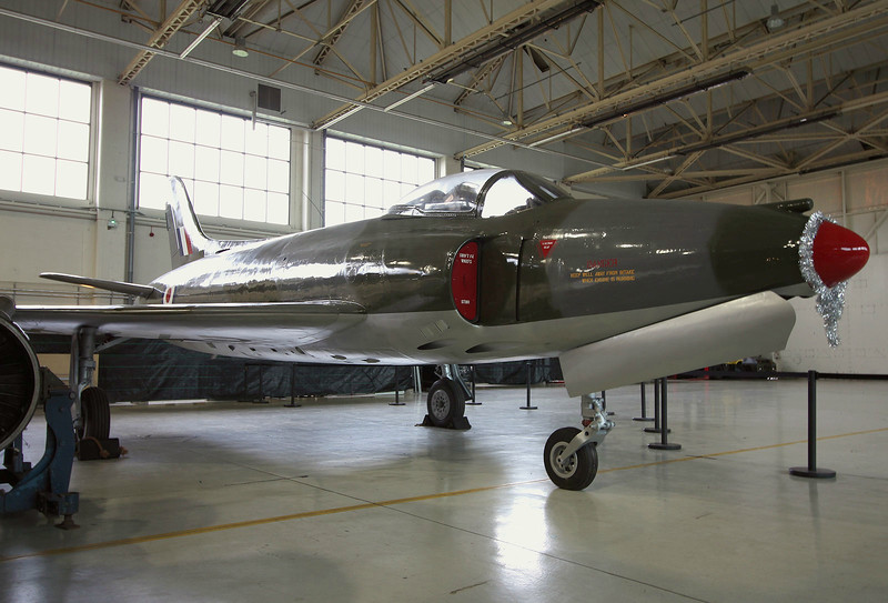Supermarine Swift F.4 WK275.<br /> By Graham Miller.