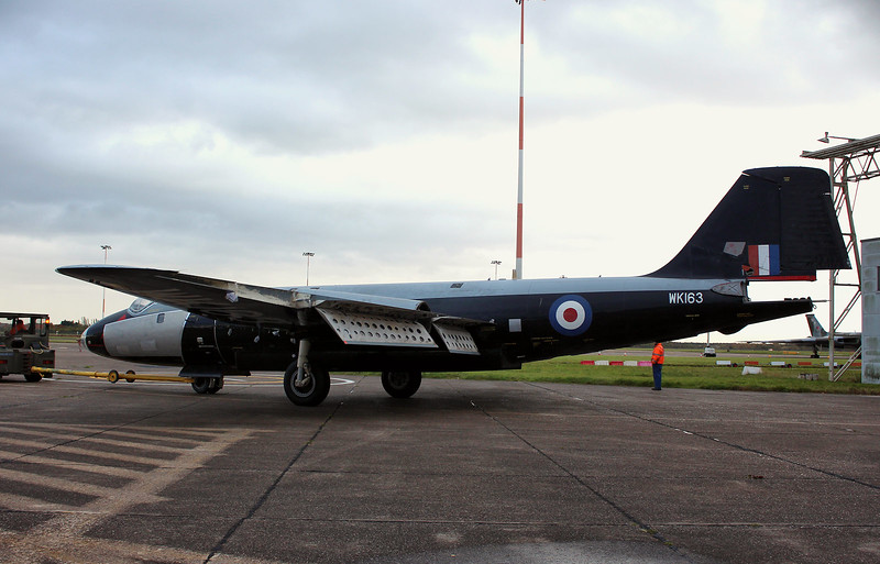 Canberra B2/6, WK163 (G-CTTS) <br /> By Graham Miller.
